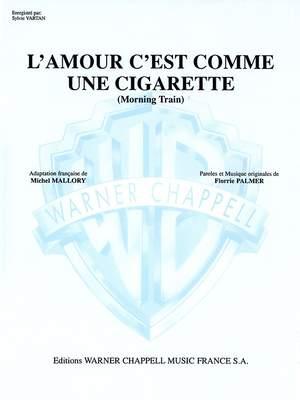 Sylvie Vartan: L'Amour Comme Cigarette