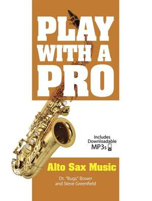 Steve Greenfield: Play With A Pro: Alto Sax Music