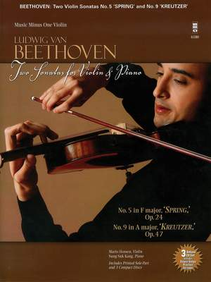 Spring 24  Beethoven   piano and violi op Sonata for Piano and Violin F major