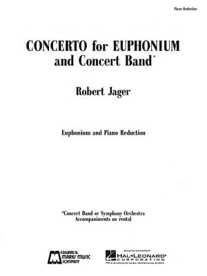 Robert Jager: Concerto for Euphonium and Concert Band