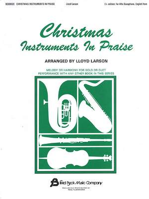 Christmas Instruments In Praise (Eb) Product Image