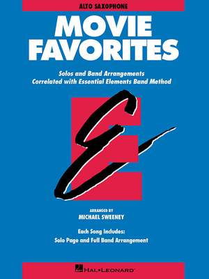 Essential Elements - Movie Favorites (Alto Sax)