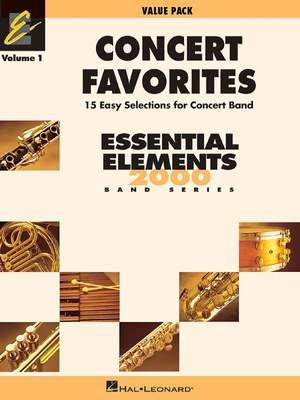 Concert Favorites Vol. 1 - Value Pak