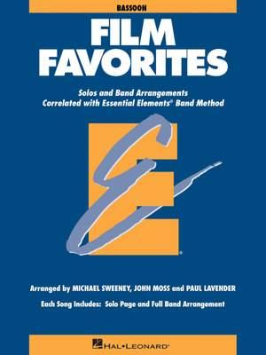 Essential Elements - Film Favorites (Bassoon)
