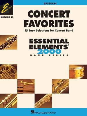 Concert Favorites Vol. 2 - Bassoon