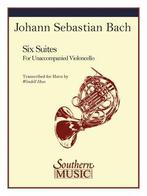 Johann Sebastian Bach: 6 Suites for Unaccompanied Horn