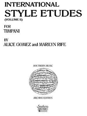 Alice Gomez: International Style Etudes, Vol. 2