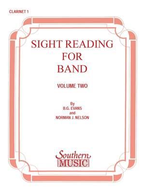 Billy Evans: Sight Reading For Band, Bk. 2 (Srb2)