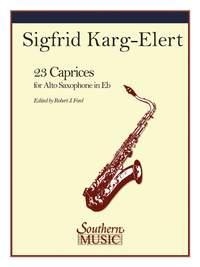 Karg-Elert, Sigfrid: Twenty-Three 23 Caprices