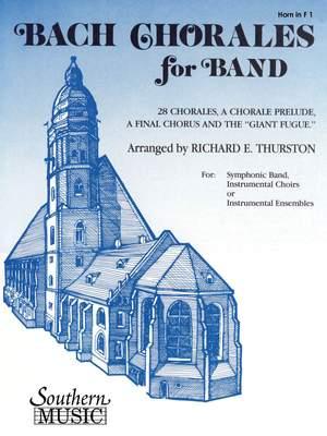 Johann Sebastian Bach: Bach Chorales For Band