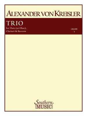 Alexander von Kreisler: Trio