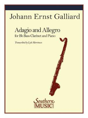 Johann Ernst Galliard: Adagio and Allegro