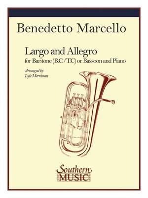 Benedetto Marcello: Largo and Allegro Product Image