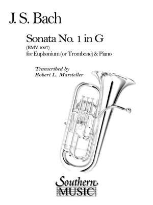 Johann Sebastian Bach: Sonata No. 1 Product Image