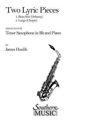 Claude Debussy: Two (2) Lyric Pieces (Beau Soir- Largo)