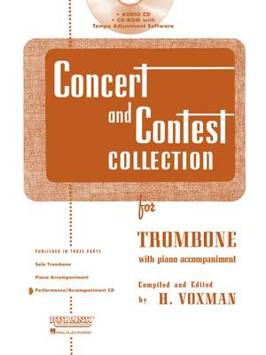 Concert and Contest Collection for Baritone TC