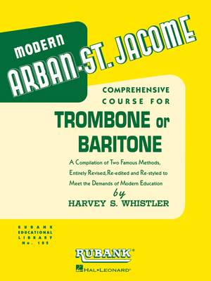 Jean-Baptiste Arban: Arban-St. Jacome Method for Trombone/Baritone B.C.