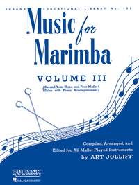 Art Jolliff: Music for Marimba - Vol. III