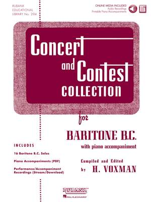 Concert and Contest Collection for Baritone BC