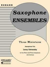 Leroy Ostransky: Three Miniatures