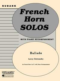 Leroy Ostransky: Ballade
