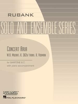Wolfgang Amadeus Mozart: Concert Aria, K. 382h