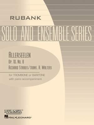 Richard Strauss: Allerseelen (Op. 10, No. 8)