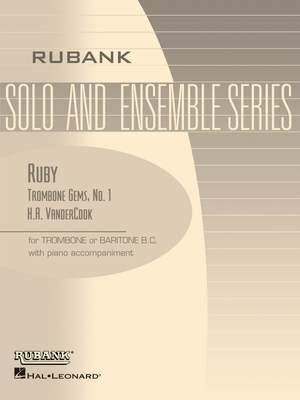 H.A. VanderCook: Ruby