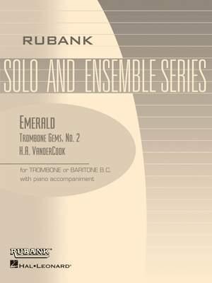 H.A. VanderCook: Emerald ( No. 2, VanderCook Trombone Gem Series ) Product Image