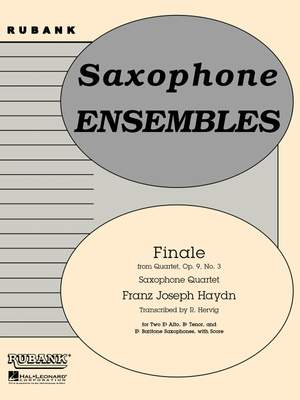 Franz Joseph Haydn: FINALE FROM (QUARTET, OP. 9 NO. 3)