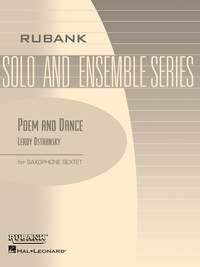 Leroy Ostransky: Poem and Dance