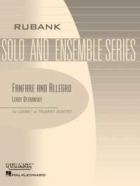 Leroy Ostransky: Fanfare and Allegro