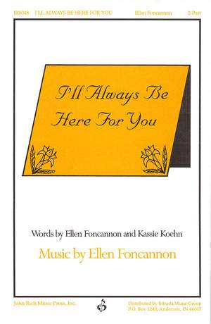 Ellen Foncannon_Kassie Koehn: I'll Always Be Here for You Product Image