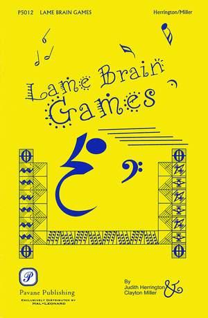 Anthony Newley_Judith Herrington: Lame Brain Games