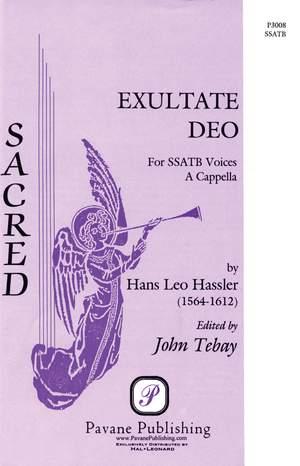 Hans Leo Hassler: Exultate Deo