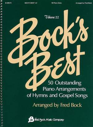 Fred Bock: Bock´s Best Piano #2