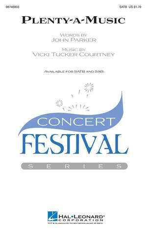 Vicki Tucker Courtney: Plenty-a-Music