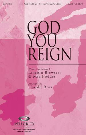 Lincoln Brewster_Mia Fieldes: God You Reign Product Image