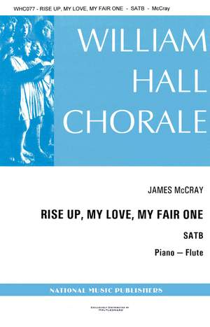 James McCray: Rise Up My Love My Fair One Piano And Flute