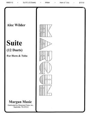 Alec Wilder: 12 Duets for Horn and Tuba