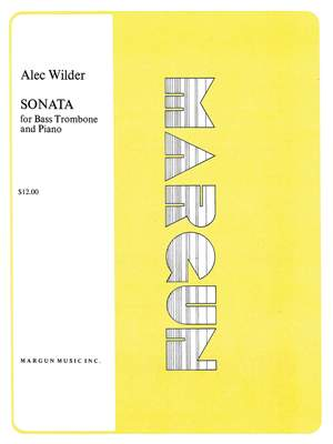 Alec Wilder: Sonata for Bass Trombone and Piano