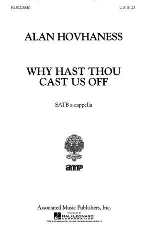 Alan Hovhaness: Why Hast Thou Cast Us Off