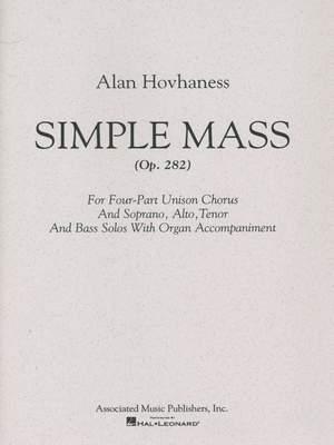 Alan Hovhaness: Simple Mass