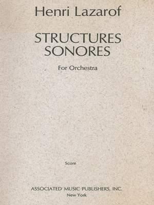 Henri Lazarof: Structures Sonores (1968)