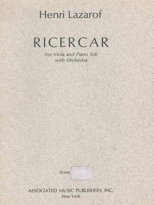 Henri Lazarof: Ricercare (1968)
