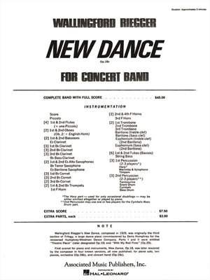 Wallingford Riegger: New Dance for Band, Op. 18b (finale)