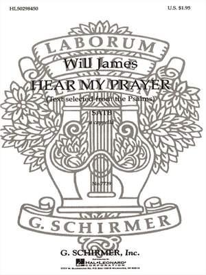 William G. James: Hear My Prayer