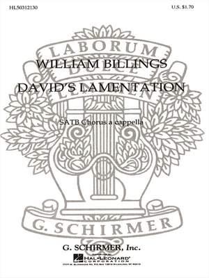 William Billings: David's Lamentation