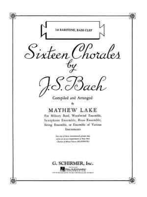 Johann Sebastian Bach: Sixteen Chorales Product Image
