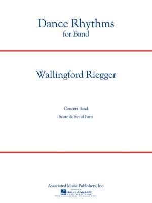 Wallingford Riegger: Dance Rhythms for Band, Op. 58